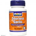 NOW Odorlees Garlic – Экстракт Чеснока в капсулах