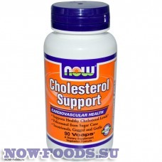 NOW Cholesterol Support - Холестерол саппорт 90 капсул
