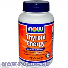 NOW Thyroid Energy - Тироид Энерджи 90 капсул