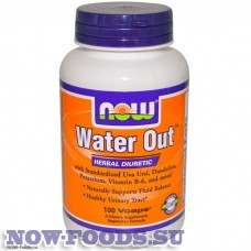 NOW Water Out – Вотер Аут 100 капсул