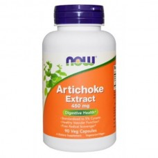 Экстракт Артишока 450 мг 90 капсул - Капсулы NOW Artichoke Extract