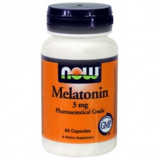 Мелатонин 3 mg 60 капсул - БАД NOW Melatonin